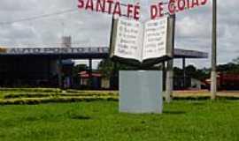 Santa Fé de Goiás - Entrada da cidade-Foto:Paulo Bantarez