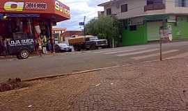 Santa Helena de Goiás - Santa Helena de Goiás-GO-Comércio no centro-Foto:Fredyemmuel