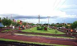 Santa Helena de Goiás - Santa Helena de Goiás-GO-Praça de Esportes-Foto:mochileiro.tur.br