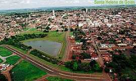 Santa Helena de Goiás - Santa Helena de Goiás-GO-Vista aérea-Foto:santahelena.go.