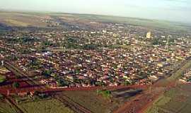 Santa Helena de Goiás - Santa Helena de Goiás-GO-Vista aérea-Foto:mapio.net