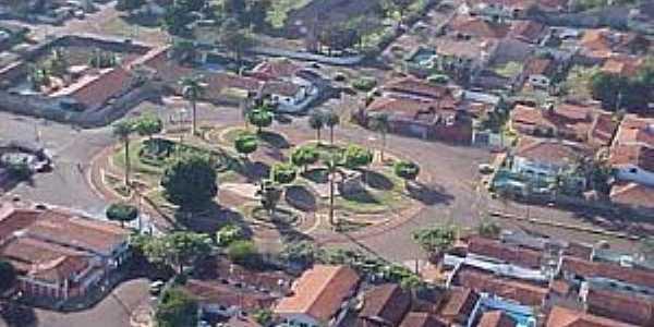Santa Helena de Goiás-GO-Centro da cidade-Foto:mochileiro.tur.br