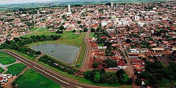 Santa Helena de Goiás-GO-Vista aérea-Foto:santahelena.go.