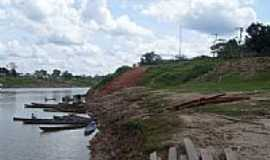 Ipixuna - Beira rio em Ipixuna-Foto:marcos roberto silva