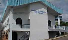 Ipixuna - Igreja Evangélica de Ipixuna-Foto:Scyscrapercity, postada por Gilson de Souza