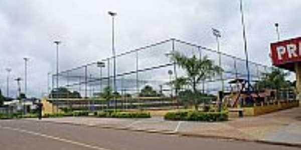 Quadra de Esportes Poliesportiva-Foto:Scyscrapercity, postada por Gilson de Souza