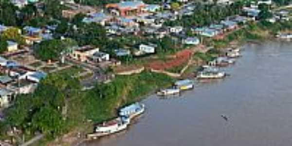 Vista aérea de Ipixuna-Foto:Scyscrapercity, postada por Gilson de Souza