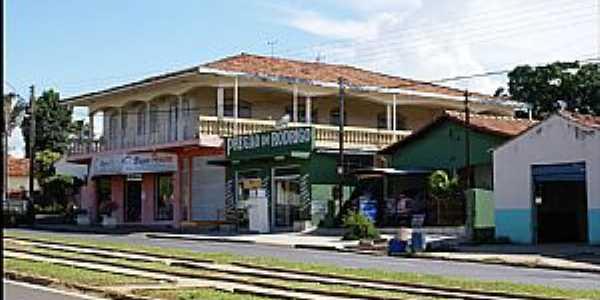 Santa Rita do Araguaia-GO-Avenida principal-Foto:Nélio Oliveira