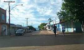 Santa Rita do Novo Destino - Rua da cidade-Foto:jose wirton galvao