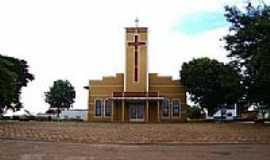 Santa Rita do Novo Destino - Igreja de Santa Rita-Foto:José A. Machado