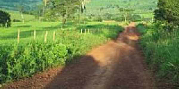 Estrada rural-Foto:jose wirton galvao