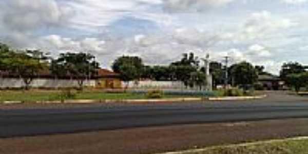 Escola Municipal Antonio Gouveia-Foto:Neander Moraes