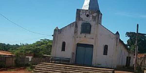 Santo Antônio do Rio Verde-GO-Matriz de Santo Antônio-Foto:projetogoias.