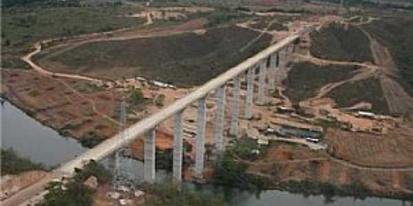 Santo Antônio do Rio Verde-GO-Ponte entre Santo Antônio do Rio Verde e o trevo das Gordas-Foto:portalcatalao.