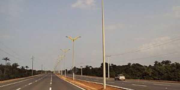 Iranduba-AM-Saída da Ponte Rio Negro-Foto:João Junio Mesquita