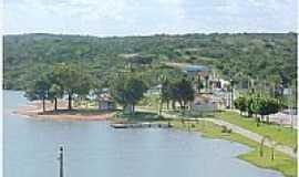 São Domingos - Área de lazer na orla de São Domingos-GO-Foto:Dimas Justo