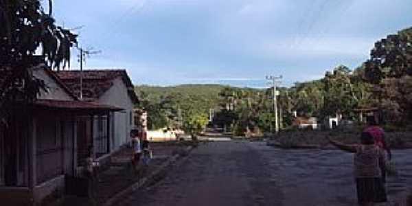São João-GO-Centro do povoado-Foto:Casemiro Witasiak