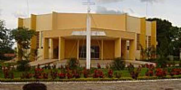 São Miguel do Araguaia-GO-Matriz de São Miguel Arcanjo-Foto:Virley Silva GMM