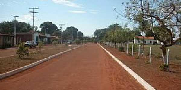 São Sebastião do Rio Claro-GO-Avenida Principal-Foto:João Luciano da Cunha