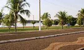 São Simão - Calçada Beira rio em São Simão-Foto:MarceloSansil