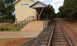 Silvânia - Antiga estação ferroviária reformada, Por W. Azevedo