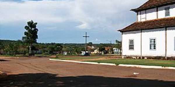 Silv�nia-GO-Igreja de Nosso Senhor do Bonfim-Foto:Arolldo Costa