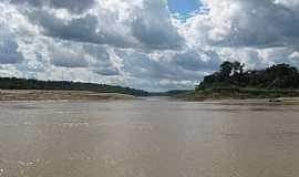Itamarati - Itamarati-AM-Lago formado na curva do Rio Juruá-Foto:Wiliam Braun