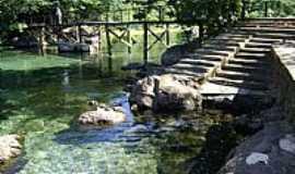 Lagoa Santa - Lagoa Santa-GO-Lago de águas quentes-Foto:Valdeir Rezende