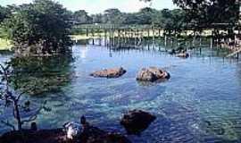 Lagoa Santa - Lagoa Santa-GO-Vista de Águas Termais-Foto:lazaroqueiroz