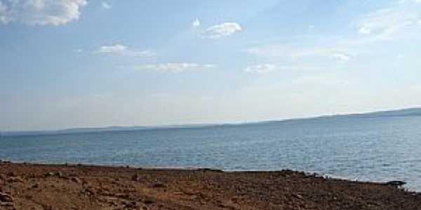 Três Ranchos-GO-Vista do Lago da Emborcação-Foto:Sergio Bertini