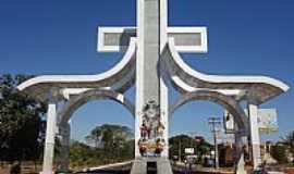 Trindade - Trindade-GO-Portal da Fé-Foto:Pe.Edinisio Pereira…