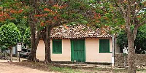 Tupiracaba-GO-Casa em meio o bosque-Foto:KleberCB