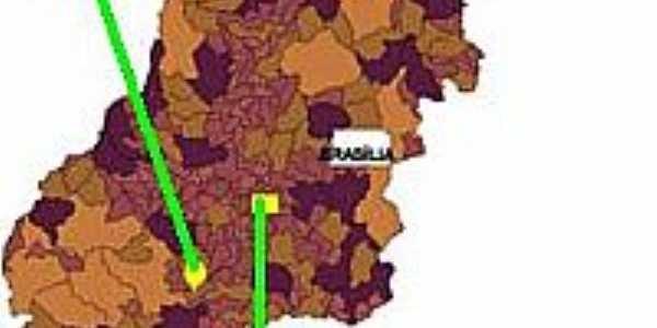 Mapa de Localização - Turvelândia-GO