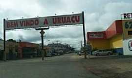 Urua�u - Entrada da cidade   por jose wirton galvao
