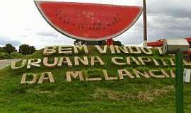 Uruana - Uruana-GO-Trevo de entrada da cidade-Foto:Adilson Barbosa