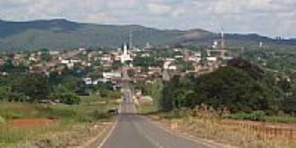 Chegando na cidade de Uruana-Foto:MaurícioFSantos