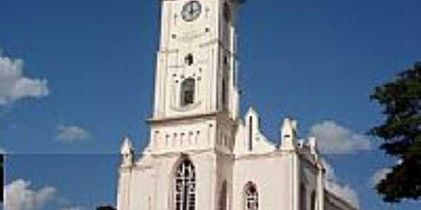 Igreja de S�o Sebasti�o em Uruana-Foto:Maur�cioFSantos