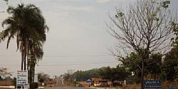Uruíta-GO-Entrada do Distrito-Foto:wender marques