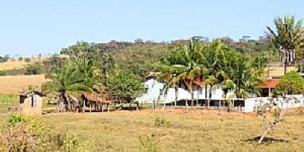 Uruíta-GO-Fazenda em área rural-Foto:Jackson Rodrigues
