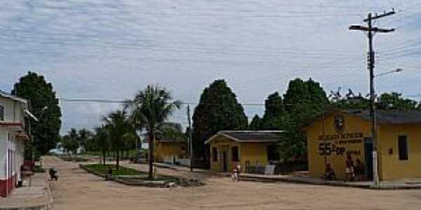 Japurá-AM-Prédios Públicos no centro-Foto:santelli
