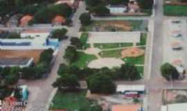 Vila Boa - Vista aérea da praça Ana Félix, Por Altino Dias Reis