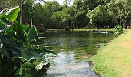 Vila Propício - Vila Propício-GO-Vista do Lago Azul-Foto:Francisco Carvalho