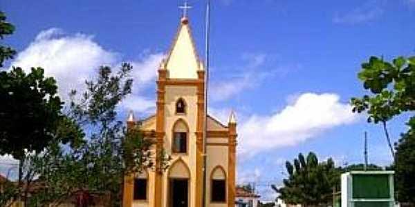 Água Doce do Maranhão-MA-Igreja Matriz-Foto:emidio augusto