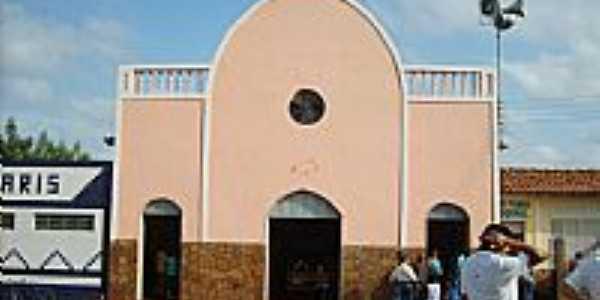 Igreja de Santa Terezinha em Aldeias Altas-MA-Foto:Isaias Cunha