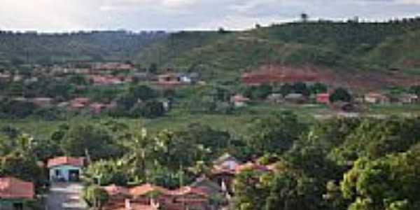 Vista parcial da cidade de Aldeias Altas-MA-Foto:Isaias Cunha