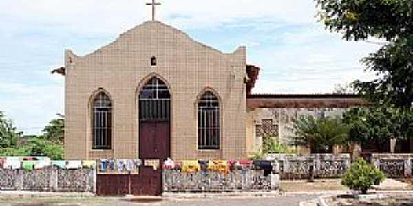 Altamira do Maranhão-MA-Igreja da cidade-Foto:www.sensacaotermica.com.br