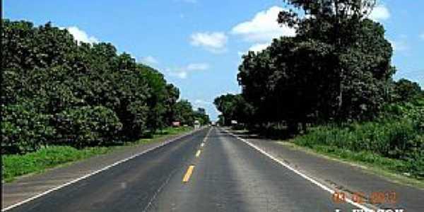 Alto Alegre do Maranhão-MA-Rodovia BR-316 chegando na cidade-Foto:J.WILSON