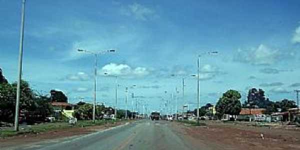 Alto Alegre do Maranhão-MA-Rodovia BR-316 na entrada da cidade-Foto:J.WILSON