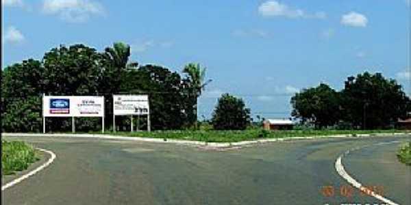 Alto Alegre do Maranhão-MA-Trevo de acesso-Foto:J.WILSON