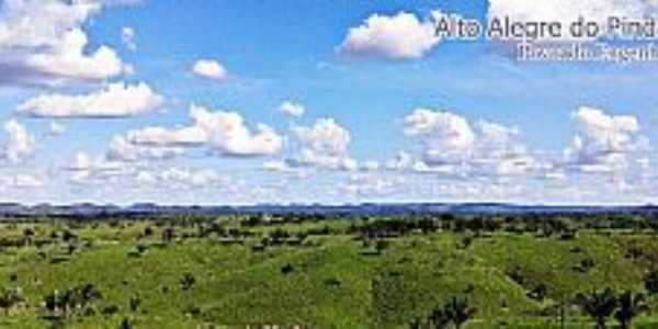 Imagens da cidade de Alto Alegre do Pindaré - MA - Povoado Engenho Central